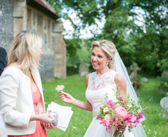 Wedding Flowers Berkshire Marquee Wedding Brides Bouquet