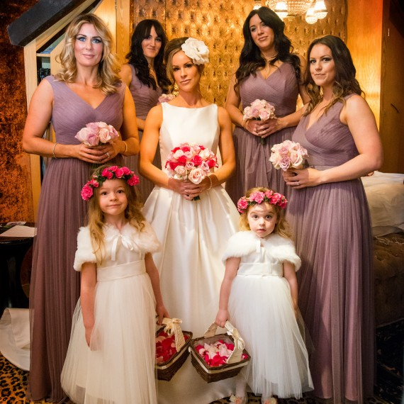 Beautiful Bespoke Elegant Bridesmaids Bouquet Crazy Bear with Gorgeous Fabulous Flowers - Luxury wedding flowers Oxford, Oxfordshire, Buckinghamshire Berkshire and London