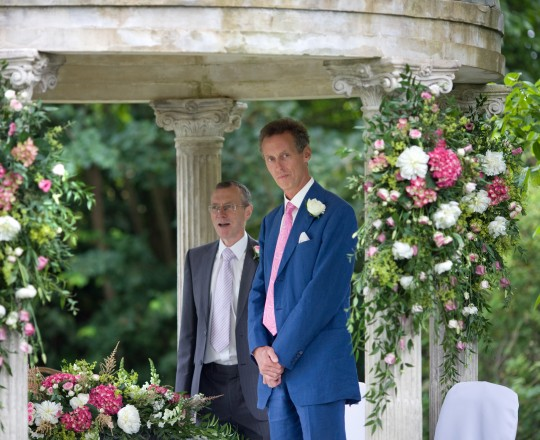 joanna carter wedding flowers Ardington House temple flowers