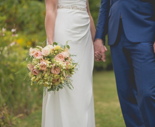 Beautiful bespoke & elegant bouquet - gorgeous fabulous wedding flowers by Joanna Carter Wedding Flowers, Oxford, Oxfordshire, Buckinghamshire, Berkshire and London.