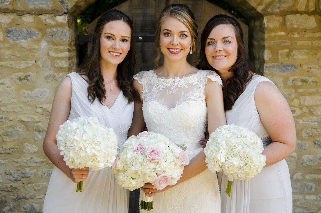 Gorgeous Brides Bridesmaids Bouquets Tythe Barn Launton Oxfordshire Joanna Carter Wedding Flowers Oxfordshire Buckinghamshire Berkshire Surrey London