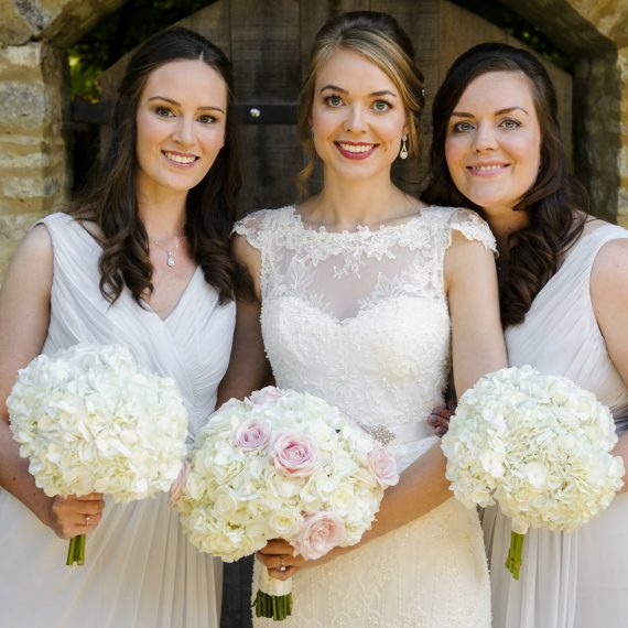 Gorgeous Brides Bridesmaids Bouquets Tythe Barn Launton Oxfordshire Joanna Carter Wedding Flowers Oxfordshire Buckinghamshire Berkshire Surrey London