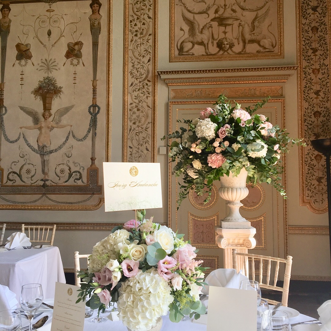 Wedding Flowers Berkshire: Venues - Joanna Carter Wedding Flowers