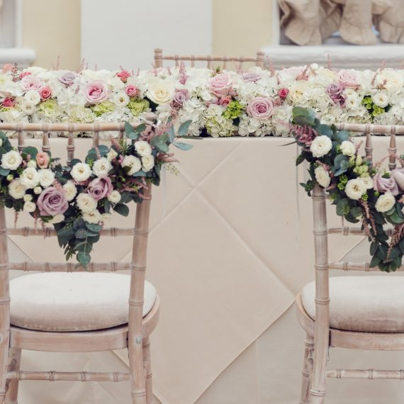 Gorgeous Chair Backs Joanna Carter Wedding Flowers Oxford Oxfordshire Buckinghamshire Berkshire London