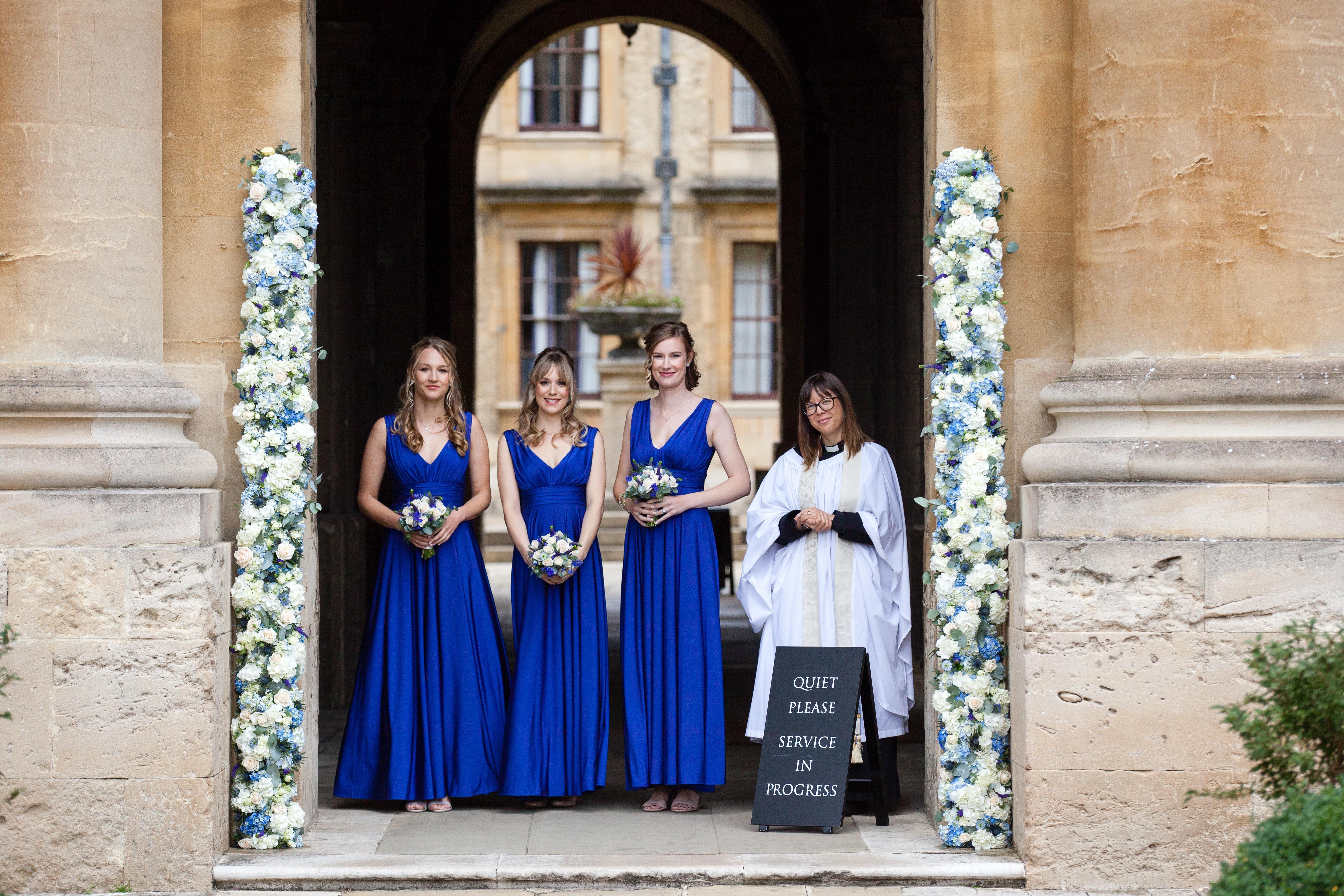 Oxford College Wedding Flowers Queen's College Oxford Joanna Carter Wedding Flowers Oxford Oxfordshire Buckinghamshire Berkshire London