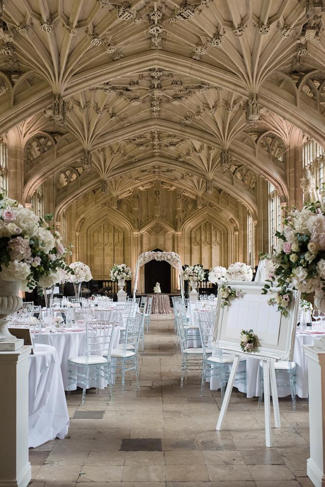Oxford College Fabulous Bespoke Wedding Flowers Bodleian Library Joanna Carter Wedding Flowers Oxford Oxfordshire Buckinghamshire Berkshire Gloucestershire London