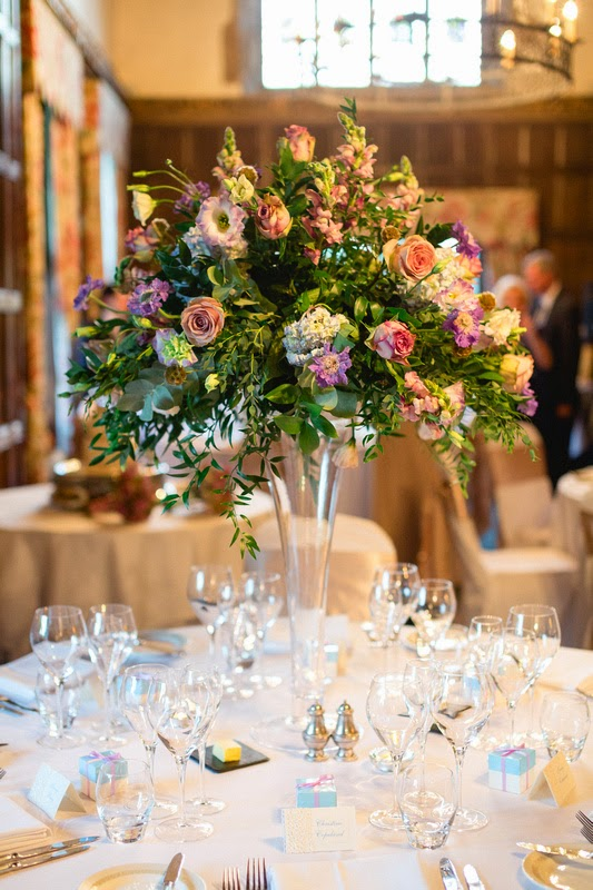 Reception Flowers, Joanna Carter Wedding Flowers, Oxford, Oxfordshire, Buckinghamshire, Berkshire & London