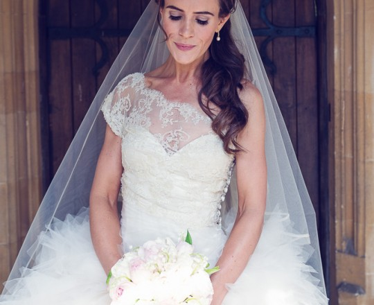 Beautiful Bespoke Elegant Brides Bouquet, with Gorgeous, Stunning & Fabulous Flowers at Blenheim Palace - Luxury wedding flowers in Oxford, Oxfordshire, Buckinghamshire & London