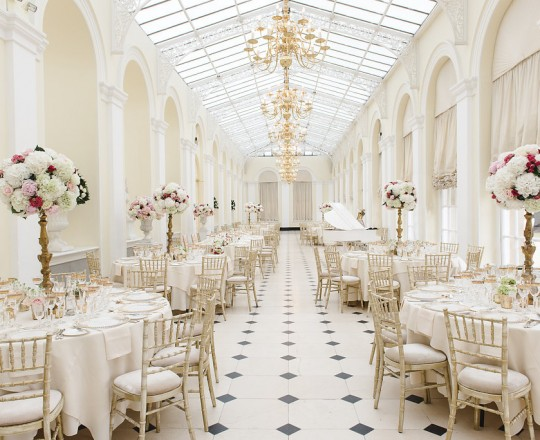 Blenheim Palace - Beautiful bespoke elegant arrangements - gorgeous fabulous wedding flowers by Joanna Carter Wedding Flowers, Oxford, Oxfordshire, Buckinghamshire, Berkshire and London.