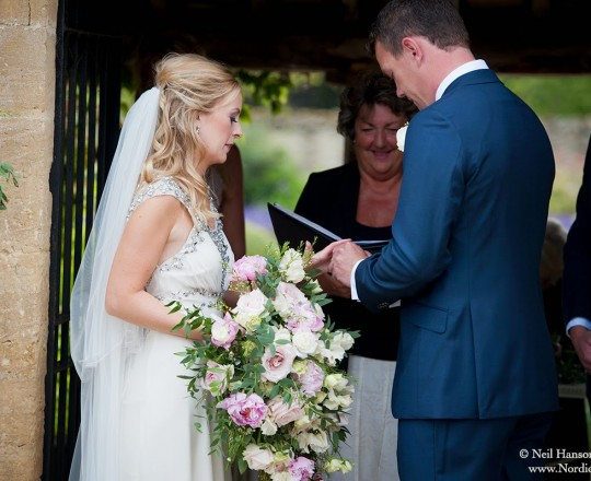 Beautiful Bespoke Elegant Brides Bouquet, with fabulous and gorgeous wedding flowers at Caswell House - Joanna Carter Wedding Flowers, Oxford, Oxfordshire, Buckinghamshire, Berkshire and London
