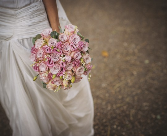 Beautiful Bespoke Elegant Brides Bouquet,