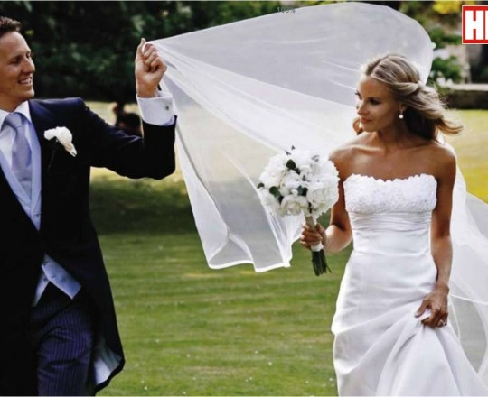 Fabulous Brides Bouquet Brendan Cole Zoe Hobbs Strictly Come Dancing - Joanna Carter Wedding Flowers