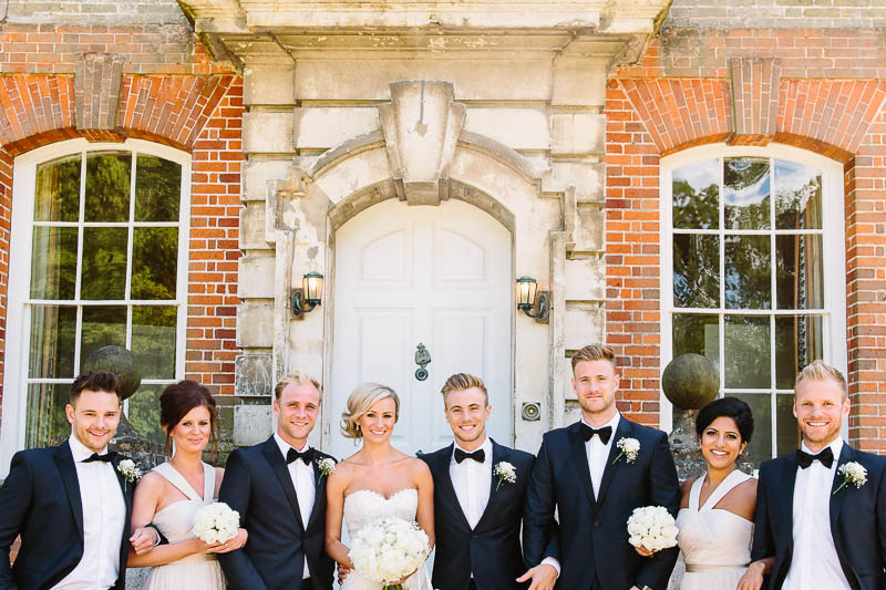 Bridal Party, Joanna Carter Wedding Flowers, Oxford, Oxfordshire, Buckinghamshire, Berkshire & London