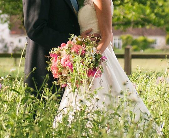 Brides Bouquet, Joanna Carter Wedding Flowers, Oxfordshire, Buckinghamshire, Berkshire & London