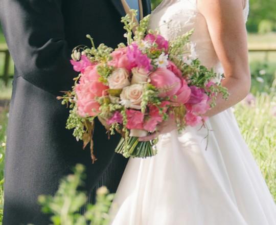 Brides Bouquet, Joanna Carter Wedding Flowers Oxford, Oxfordshire, Buckinghamshire, Berkshire & London