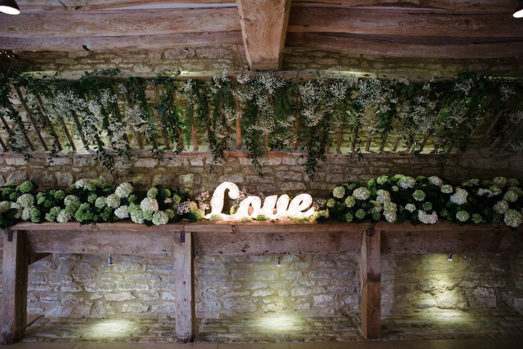 Venue Flowers, Caswell House Joanna Carter wedding flowers, Oxfordshire, Berkshire, Buckinghamshire, London