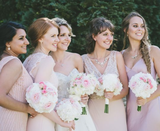 Bridesmaids Bouquets Joanna Carter Wedding Flowers Oxford Oxfordshire Buckinghamshire Berkshire London